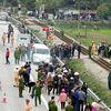 Tai nạn ở Hải Dương: Trưởng Công an xã và anh trai cùng 4 cán bộ tử vong