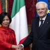 Đại sứ Nguyễn Thị Bích Huệ trình Quốc thư lên Tổng thống Cộng hòa Italy