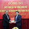 Công bố quyết định bổ nhiệm ông Trần Văn Minh giữ chức Phó Tổng Thanh tra