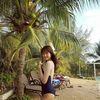 Không ngờ Đỗ Nhật Hà mặc áo tắm lại đẹp hơn cả 'gái xịn' như thế này!