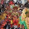 Vạn người tham gia lễ rước nước tại chùa Tam Chúc lớn nhất thế giới