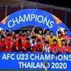 Trận chung kết giải U23 châu Á 2020 diễn ra trong 120 phút giữa U23 Ả Rập Xê Út và U23 Hàn Quốc. Jeong TaeWook là cầu thủ ghi bàn thắng duy nhất giúp đội bóng xứ kim chi lần đầu tiên giành chức vô địch U23 châu Á.
