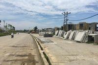 Cận cảnh đoạn Quốc lộ 6 dài 2,3km làm gần 8 năm chưa xong