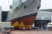 Khổng lồ tàu tuần tra hai mũi cực dị của Italy