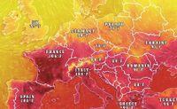 Nắng nóng chết người đe dọa châu Âu