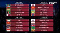 ĐT Việt Nam gặp lại đối thủ đầy duyên nợ Thái Lan ở Vòng loại World Cup 2022