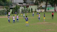 Kết quả trận đấu tứ kết giải bóng đá 'Kết nối doanh nghiệp - Gammer Cup 2019'