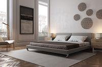Làm mới phòng ngủ bằng giường ngủ hiện đại