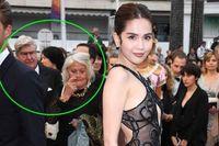 Ngọc Trinh hứng cả 'núi gạch đá' sau màn khoe thân phản cảm ở LHP Cannes 2019
