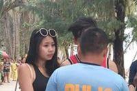 Nữ du khách bị bắt vì mặc bikini siêu nhỏ trên bãi biển