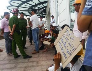 Nhà thầu TTTM Hòa Bình Green dừng thi công, hơn 100 công nhân điêu đứng
