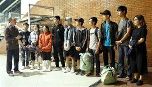10 sinh viên Việt Nam bị kẹt tại vùng động đất đã đến Thủ đô Jakarta