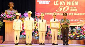 Khoa Công nghệ và An ninh thông tin, Học viện An ninh đón nhận Bằng khen của Thủ tướng Chính phủ