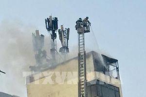 Làm rõ nguyên nhân cháy tại quán karaoke X9 trên phố Hào Nam, Hà Nội