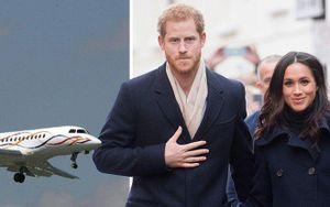 Máy bay riêng trị giá 40 triệu bảng Anh của vợ chồng Hoàng tử Harry bị sét đánh