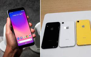 So sánh Google Pixel 3 vừa ra mắt với iPhone XR sắp mở bán