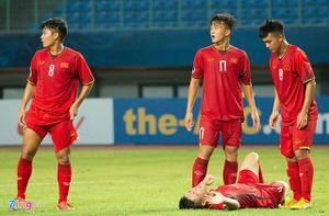 Nguyên nhân thất bại của U.19 Việt Nam