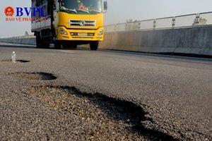 Hàng loạt tổ chức, cá nhân bị kỷ luật liên quan đến cao tốc Đà Nẵng - Quảng Ngãi hư hỏng
