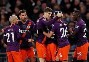 Chùm ảnh: Man City vượt khó trước Tottenham, trở lại ngôi đầu