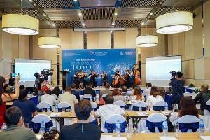 Đêm nhạc cổ điển Toyota lần thứ 21 diễn ra tại Việt Nam