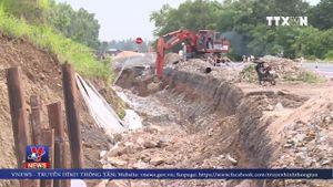 Phú Yên khẩn trương khắc phục các vị trí hư hỏng trên Quốc lộ 1