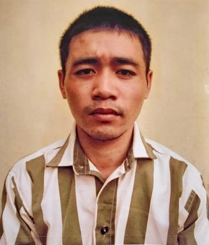 Bắt được tên cướp trốn trại giam Bộ Công an sau 2 ngày lẩn trốn