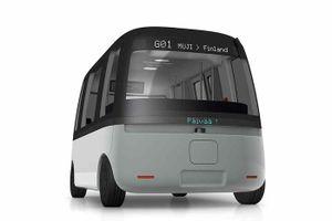 Khám phá xe buýt điện tự lái dưới mọi thời tiết Gacha Shuttle