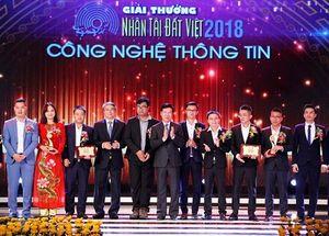 Vinh danh các sản phẩm CNTT tại lễ trao giải Nhân tài đất Việt