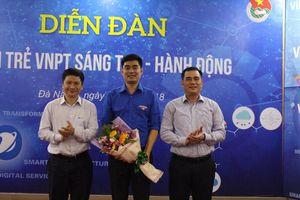 Anh Hoàng Tiến Hưng làm Bí thư Đoàn Tập đoàn VNPT