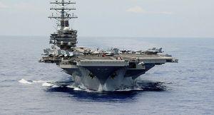 Tàu sân bay Mỹ bị nghi gây gián đoạn tín hiệu điện từ ở Hong Kong