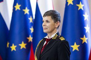 Quân đội Slovenia có nữ Tổng tham mưu trưởng đầu tiên