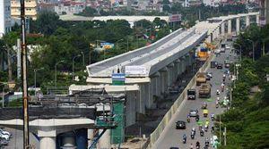 Giải ngân 1.560 tỷ tại Dự án Đường sắt đô thị đoạn Nhổn - Ga Hà Nội