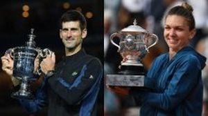 Djokovic, Halep nhận giải 'Nhà vô địch thế giới' năm 2018