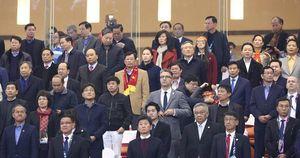 Lãnh đạo Đảng, Nhà nước có mặt ở SVĐ Quốc gia Mỹ Đình 'tiếp lửa' cho Đội tuyển Việt Nam