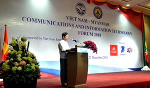 Sản phẩm và dịch vụ 'Made in Viet Nam' có mặt tại Myanmar