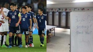 Thua chung kết Asian Cup, Nhật Bản vẫn dọn sạch phòng thay đồ