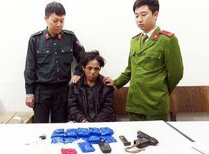 Trung úy công an bị nghi can tàng trữ ma túy bắn trọng thương
