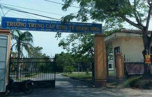 Những sai phạm tại trường Trung cấp kinh tế Quảng Bình - Kỳ 4: Thanh tra chỉ rõ sai phạm là nghiêm trọng