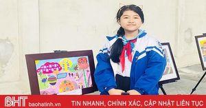 'Cây cọ nhí' cá tính, đa tài ở TP Hà Tĩnh