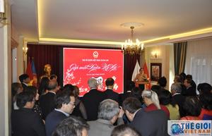 Đại sứ quán Việt Nam tại Ba Lan tổ chức gặp mặt đầu Xuân