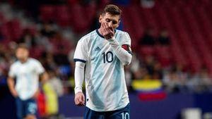 Barca mừng húm khi Messi sớm rời tuyển Argentina