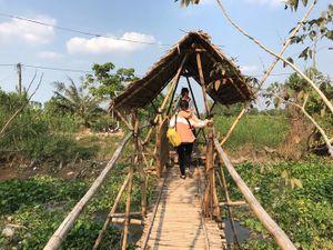 Trốn Sài Gòn, đến resort bằng tre độc đáo ở miền Tây