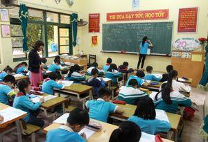 Thái Bình: Học sinh Trường Tiểu học Vũ Thư lại đến lớp bình thường