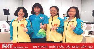 VĐV Hà Tĩnh giành 4 huy chương tại giải Karatedo Đông Nam Á 2019