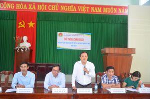 Quảng Ngãi: Sở LĐ-TB-XH đối thoại chính sách tại huyện Sơn Tịnh