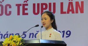 Nữ sinh Hải Dương giành giải nhất cuộc thi viết thư UPU lần thứ 48 năm 2019