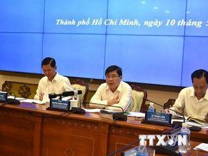 Tạo chuyển biến mạnh trong tăng trưởng kinh tế Thành phố Hồ Chí Minh