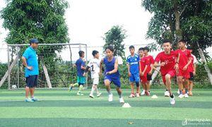 Bóng đá Yên Thành quyết tâm bảo vệ chức vô địch Cúp Báo Nghệ An