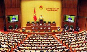 Kỳ họp thứ 7, Quốc hội khóa XIV: Nhiều dự án luật quan trọng được Quốc hội thảo luận