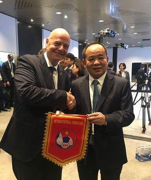 Chủ tịch VFF dự Đại hội lần thứ 69 của FIFA